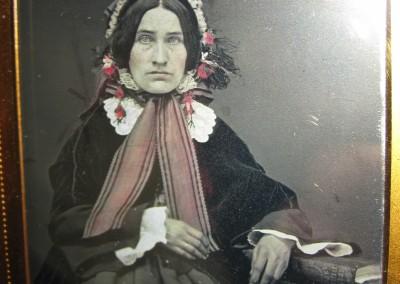 1850s American Handcolored Daguerreotype