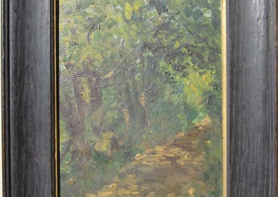 Aaron Butler Dikeman Oil Painting - Lake Geneva WI 1911