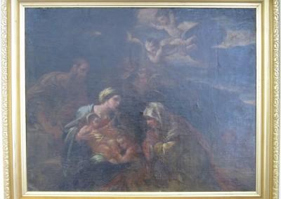 Italian Master St John the Baptist Painting