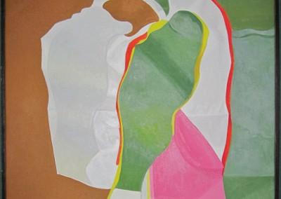 Morris Kantor Oil Painting ex. Christie's