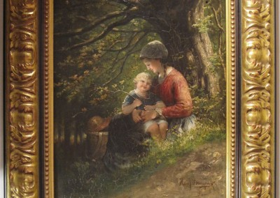 Hein J. Burgers Oil Painting