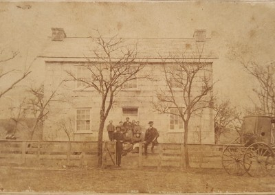 Gettysburg CDV - Codori House or 2nd Wentz Farm House