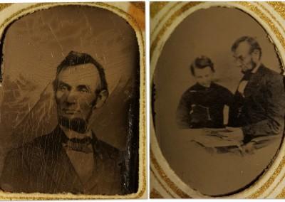 1864 Abraham Lincoln Gem Tintypes