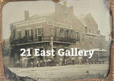New Orleans Street Scene Tintype