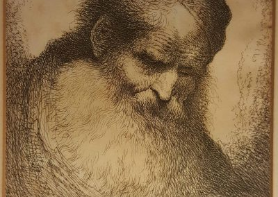 Giovanni Benedetto Castiglione Etching - 1650