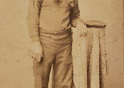 Civil War Sailor Photograph