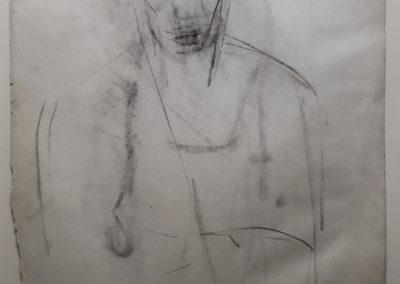 Joan Mitchell Sketch 1949 - 1951 ex. Francis M. Naumann